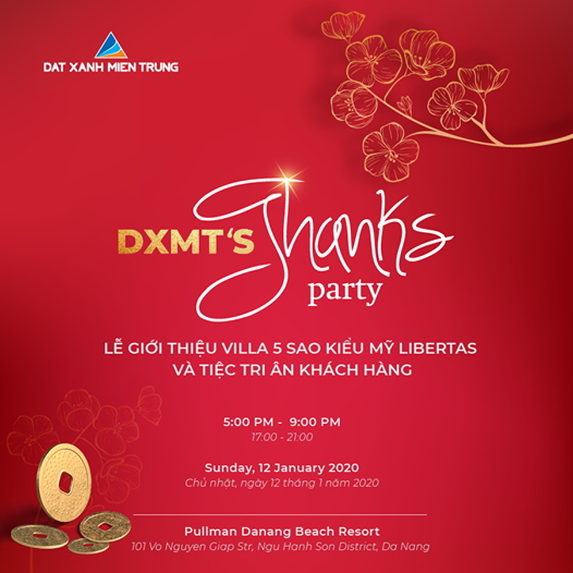 ĐXMT 'S THNKS PARTY, 1 January | Event in Danang | AllEvents.in