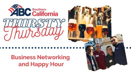 Thirsty Thursday - Business and Networking Happy Hour