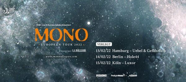 MONO // Hamburg, 13 February | Event in Hamburg | AllEvents.in