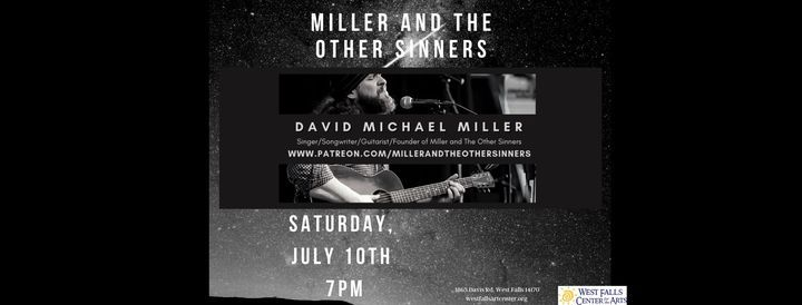 Miller and the Other Sinners, 10 July   Event in West Falls   AllEvents.in