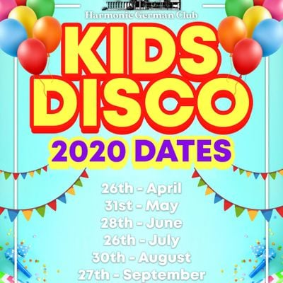 Junior Groovers Disco 2020
