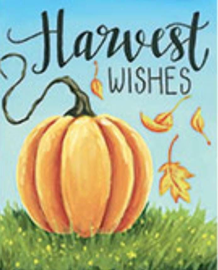 Harvest Wishes Paint Party Fundraiser - Oct 5 event ONLY at