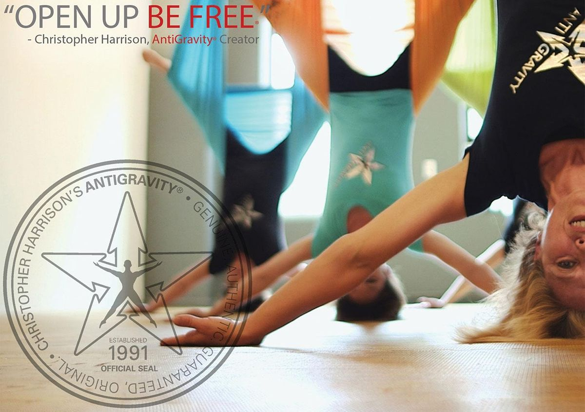 AntiGravity® Aerial Yoga 1(Pre-Reg) Whitstable, Kent   Event in Whitstable   AllEvents.in