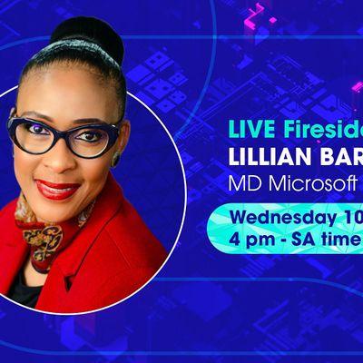 Women in Tech - LIVE Fireside chat with Lillian Barnard MD Microsoft SA