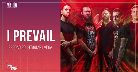 I Prevail The Trauma Tour - VEGA - Venteliste