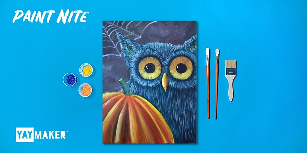 Paint Nite: The Original Paint and Sip Party, 29 October   Event in Lynbrook   AllEvents.in