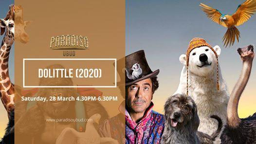 Screening Dolittle 2020 At Paradiso Ubud Ubud