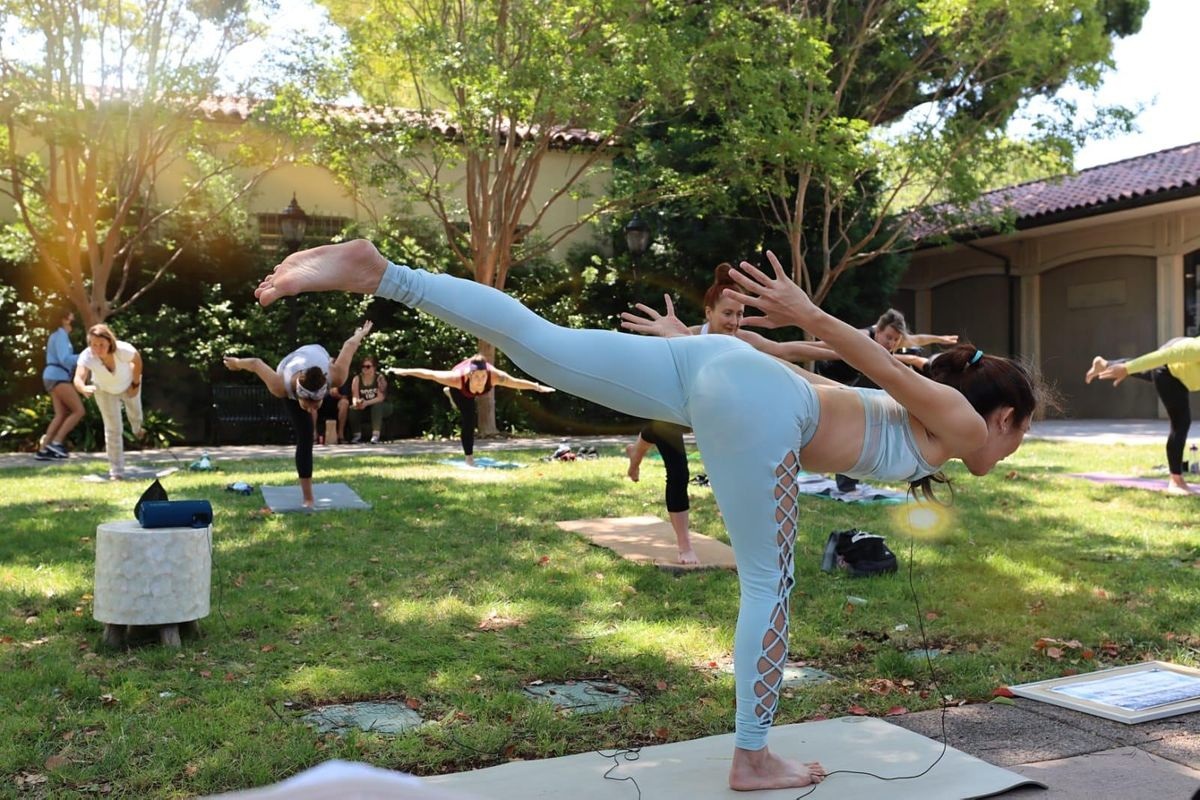 All Level Yoga with Eva - Virtual Yoga Class   Online Event   AllEvents.in