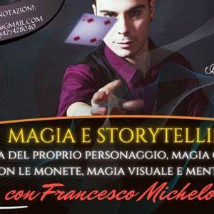 Seminario di Prestigiazione e Storytelling per adulti e ragazzi