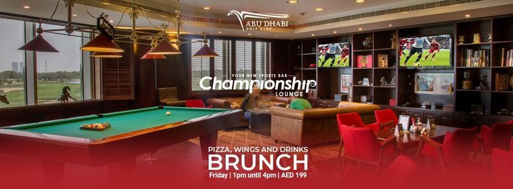 Pizza, Wings and Drinks Brunch | Event in Abu Dhabi | AllEvents.in