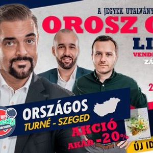 Stand up comedy LIVE akr vacsorval - Szeged