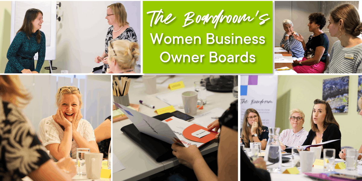 Free Taster of The Boardrooms Women Business Owner Boards - Southampton
