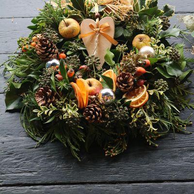 Christmas Wreath Workshop with Festive Afternoon Tea