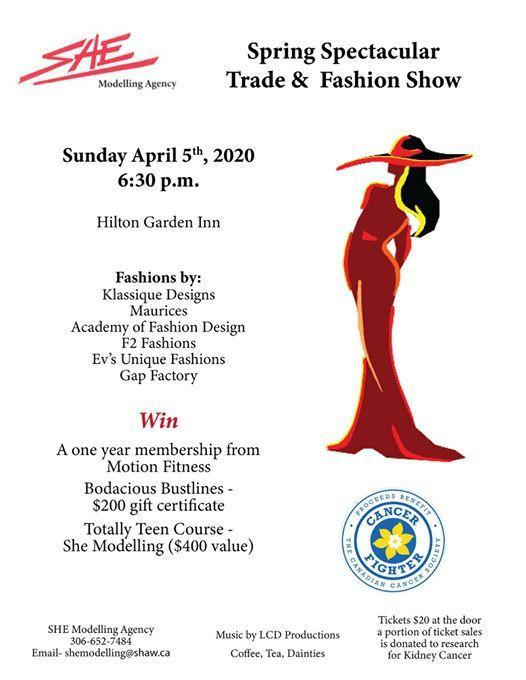 Spring Spectacular Trade Fashion Show At Hilton Garden Inn Saskatoon Downtown Saskatoon