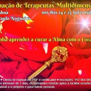 Curso de Terapia Multidimensional em Lisboa em Jul21