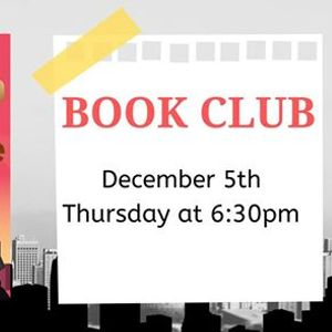 """Adult Book Club December - &quotMaybe the Horse Will Talk"""""""