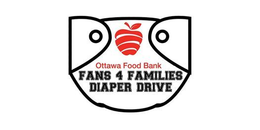 Fans For Families Diaper Drive At Td Place Gloucester