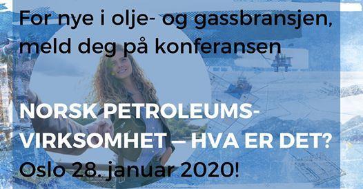 Norsk Petroleumsvirksomhet - Hva er det