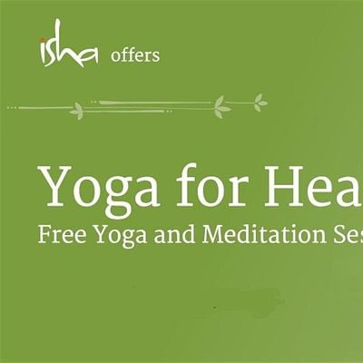 Lunchtime Free Isha Meditation Session - Yoga for Health