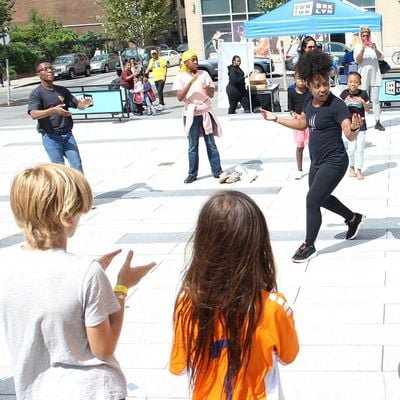 Family Dance Classes with the Mark Morris Dance Group