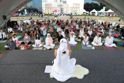 Yogafest Dubai 2021 at Dubai Internet City Amphitheatre, 18 March | Event in Dubai | AllEvents.in
