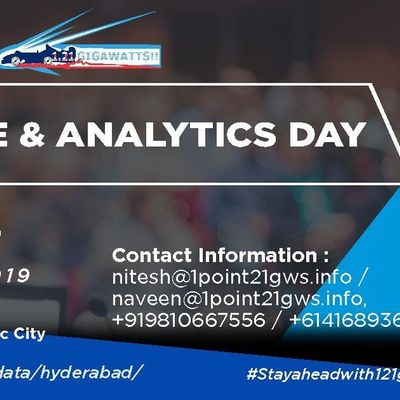 Data Lake and Analytics Day Hyderabad 6 December 2019