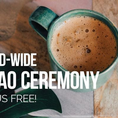 World-Wide Virtual Cacao Ceremony for the New Moon