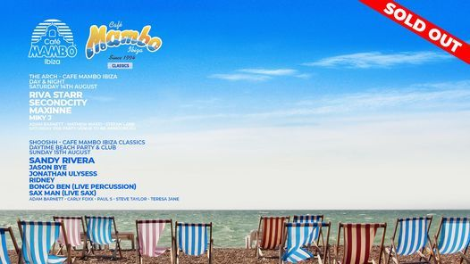 Cafe Mambo Ibiza Brighton Seafront Takeover 2, 14 August | Event in Brighton | AllEvents.in