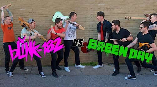 Green Day vs Blink-182 Tribute Night performed by Throwback Thursday