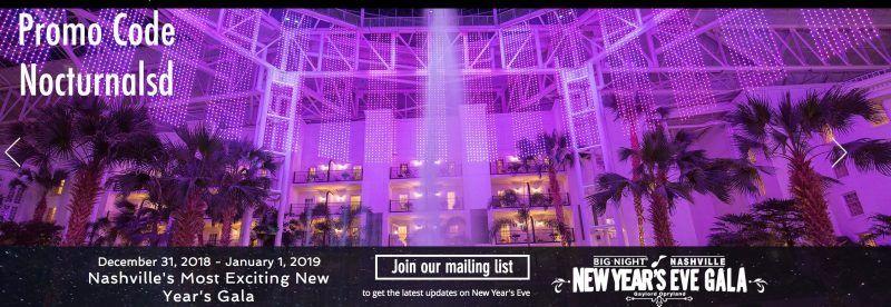Big Night Nashville NYE Promo Code