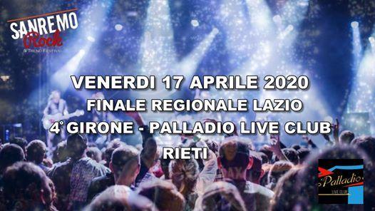 Finale Regionale Lazio 4 Girone 170420