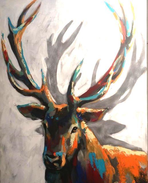 ArtMasters - Paint Party - Oh my Deer inkl. ein Glas Sekt