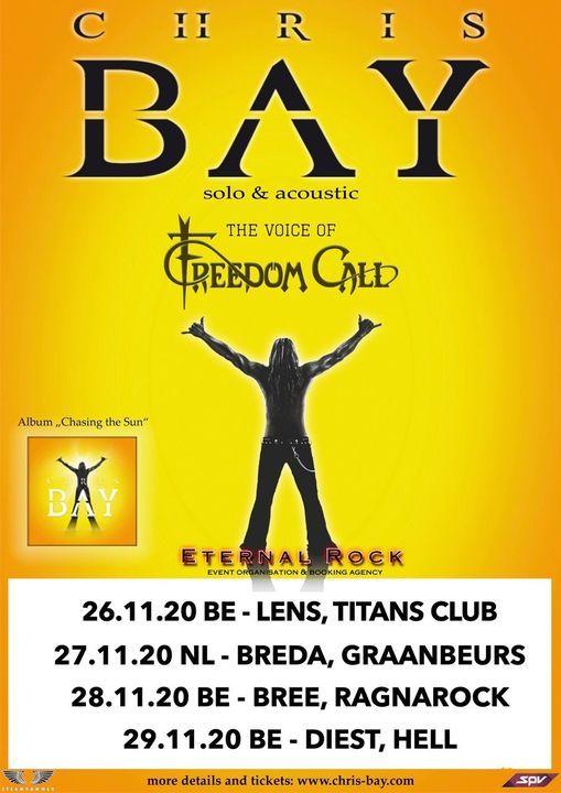 Chris Bay in DIEST (BE), 29 November | Event in Diest | AllEvents.in