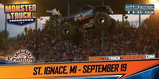 Monster Truck Throwdown St Ignace Mi September 19 2020 Kewadin Casino St Ignace Saint Ignace 19 September