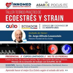I Curso de Ecoestrs y Strain (Fsico y Farmacolgico) Ecuador 2021