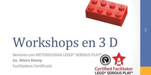 Workshop 3D Innovar con LEGO SERIOUS PLAY Septiembre