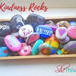 Kindness Rock Painting- All Welcome