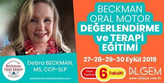 Beckman Oral Motor Deerlendirme ve Terapi Eitimi