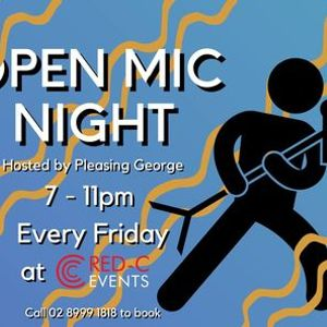 Open Mic Night at RED-C