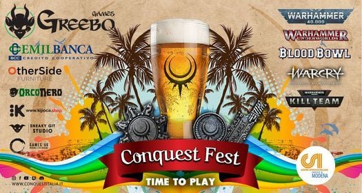 Conquest-Fest 2021, 12 June | Event in Modena | AllEvents.in