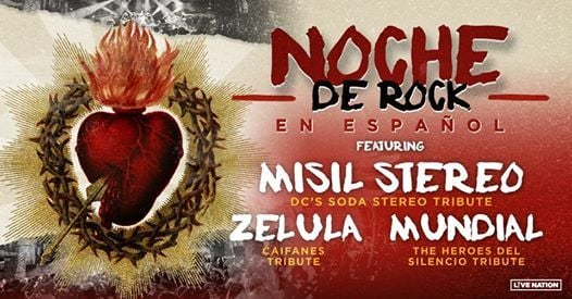 Noche De Rock featuring Misil Stereo Zelula and Mundial