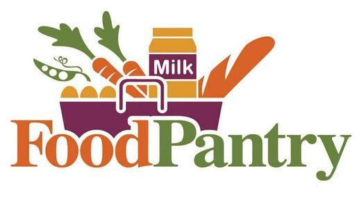 Food Pantry - giving out food to the community