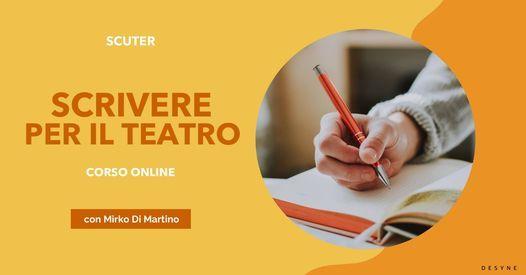 Scrivere per il Teatro | Corso online, 28 September | Event in Mugnano Di Napoli | AllEvents.in