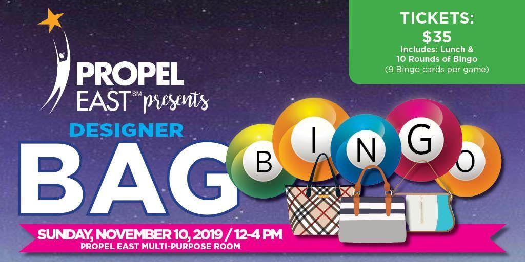 Propel East Designer Bag Bingo