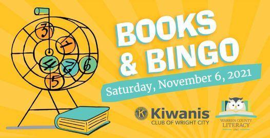 Books & Bingo, 6 November   Event in Wright City   AllEvents.in