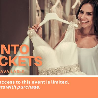 Mississauga Pop Up Wedding Dress Sale VIP Early Access