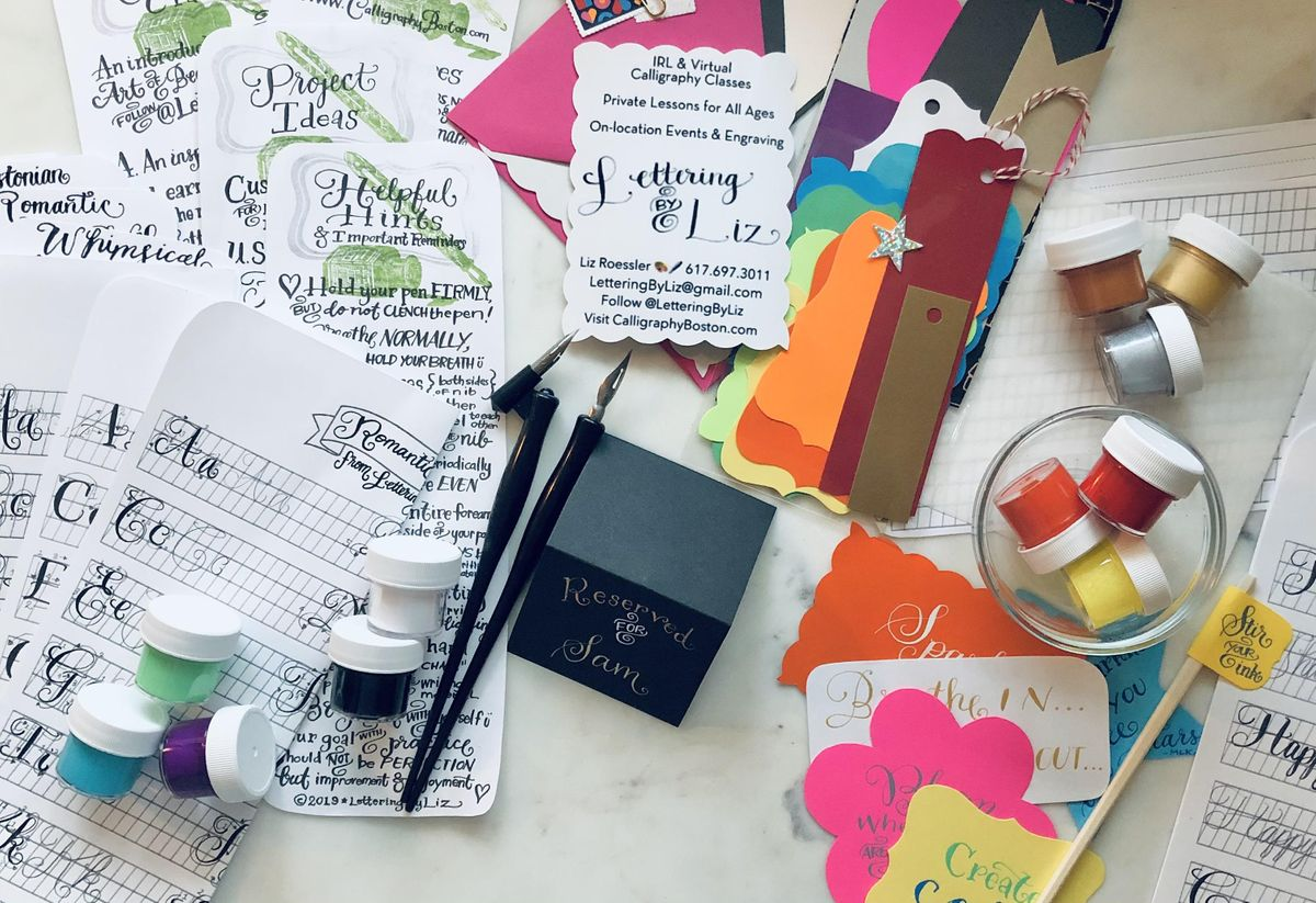NYC In-person Calligraphy Workshop for Beginners | Event in New York | AllEvents.in
