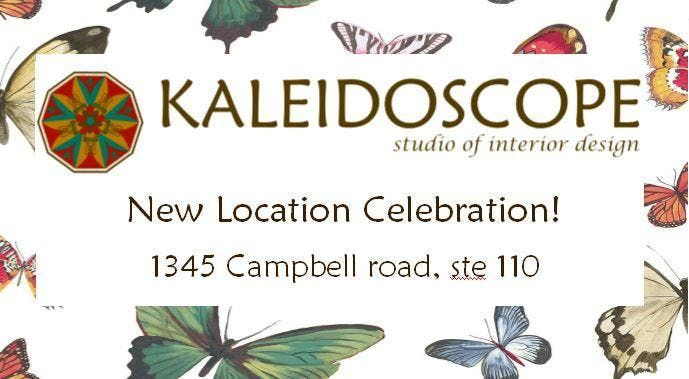 New Location Celebration Kaleidoscope Studio Of Interior Design At 1345 Campbell Rd Houston