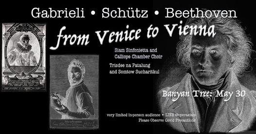 Siam Sinfonietta: from Venice to Vienna, 3 October | Event in Bangkok | AllEvents.in