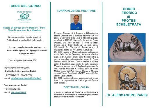 Corso teorico di protesi scheletrata: la corretta progettazione, 9 January | Event in Messina | AllEvents.in